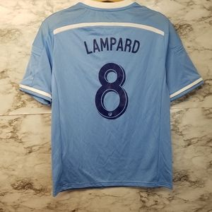 Nike New York City FC MLS Lampard #8 Jersey Large